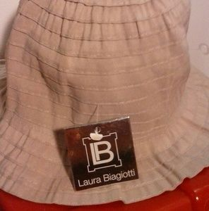 NWT B Laura Biagiottii Designer Hat